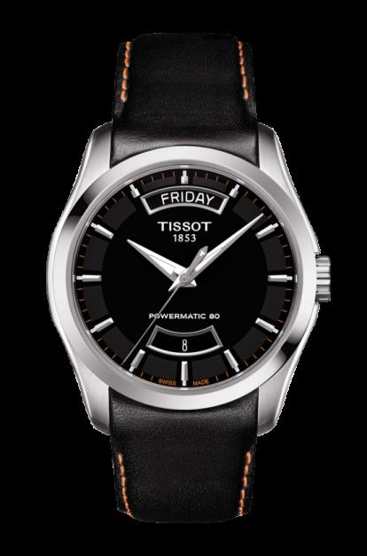 Tissot Couturier Black Dial Automatic Mens T035.407.16.051.03 (T0354071605103)
