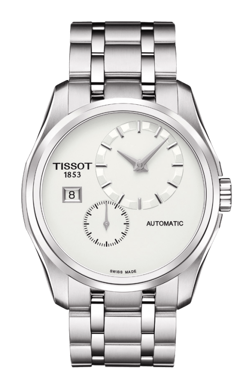 Tissot Couturier White Dial Mens T035.428.11.031.00 (T0354281103100)