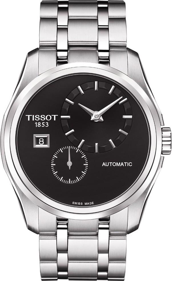 Tissot-Couturier-Automatic-Black-Dial-Mens-T035.428.11.051.00-(T0354281105100)