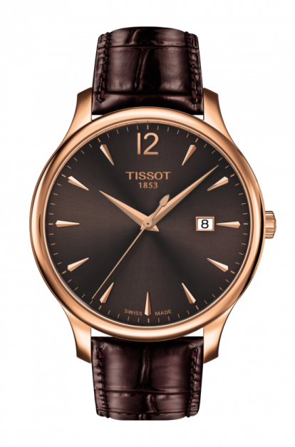 Tissot-Tradition-Brown-Dial-Mens-T063.610.36.297.00-(T0636103629700)