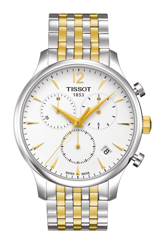 TISSOT T-Classic Tradition Chronograph T063.617.22.037.00 (T0636172203700)