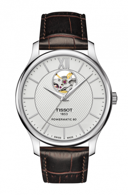 Tissot-Tradition-Automatic-Silver-Dial-Mens-T063.907.16.038.00-(T0639071603800)