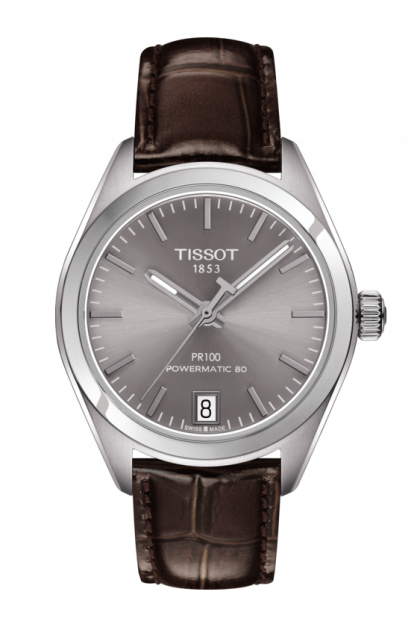 Tissot-PR-100-Automatic-Rhodium-Dial-Ladies-T101.207.16.071.00-(T1012071607100)