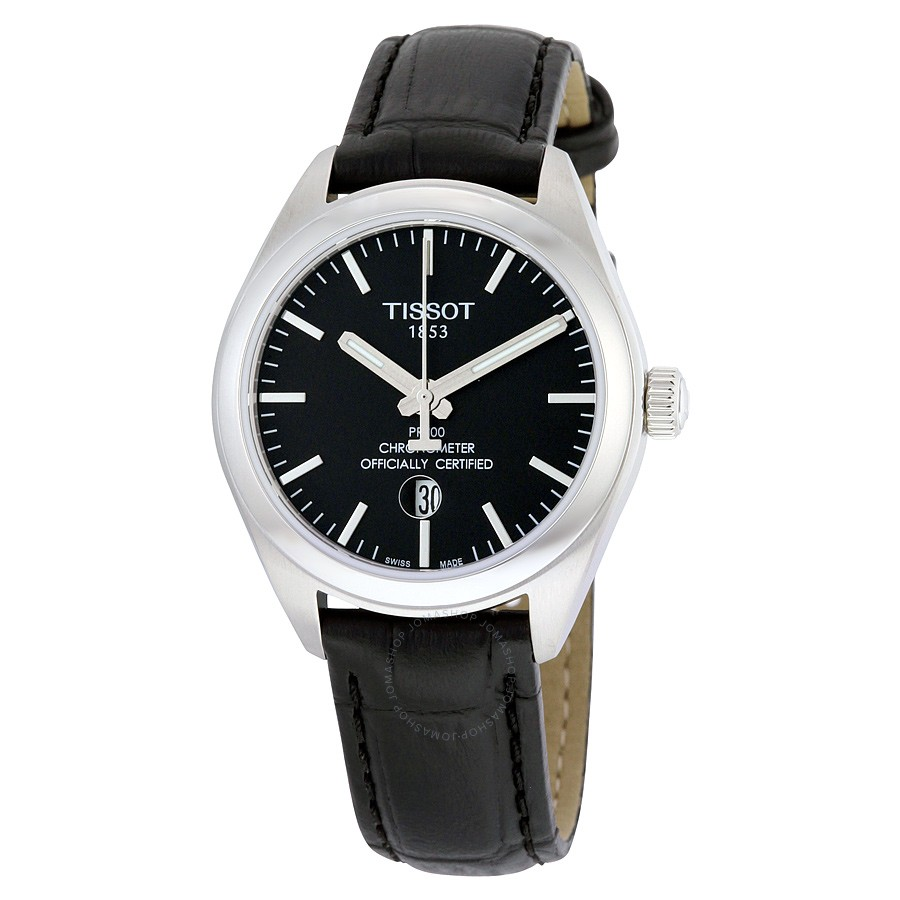 Tissot-PR-100-Black-Dial-Ladies-T101.251.16.051.00-(T1012511605100)