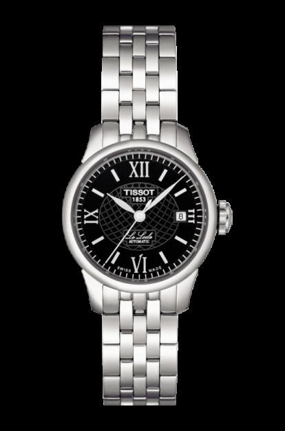 Tissot-Le-Locle-Automatic-Black-Dial-Ladies-T41.1.183.53-(T41118353)