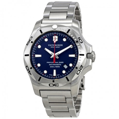 Victorinox-I.N.O.X.-Blue-Dial-Mens-Stainless-Steel-241782