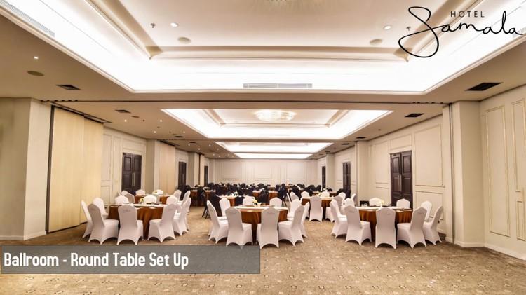 Sewa Ruang Meeting Samala Ballroom Di Samala Hotel Xwork