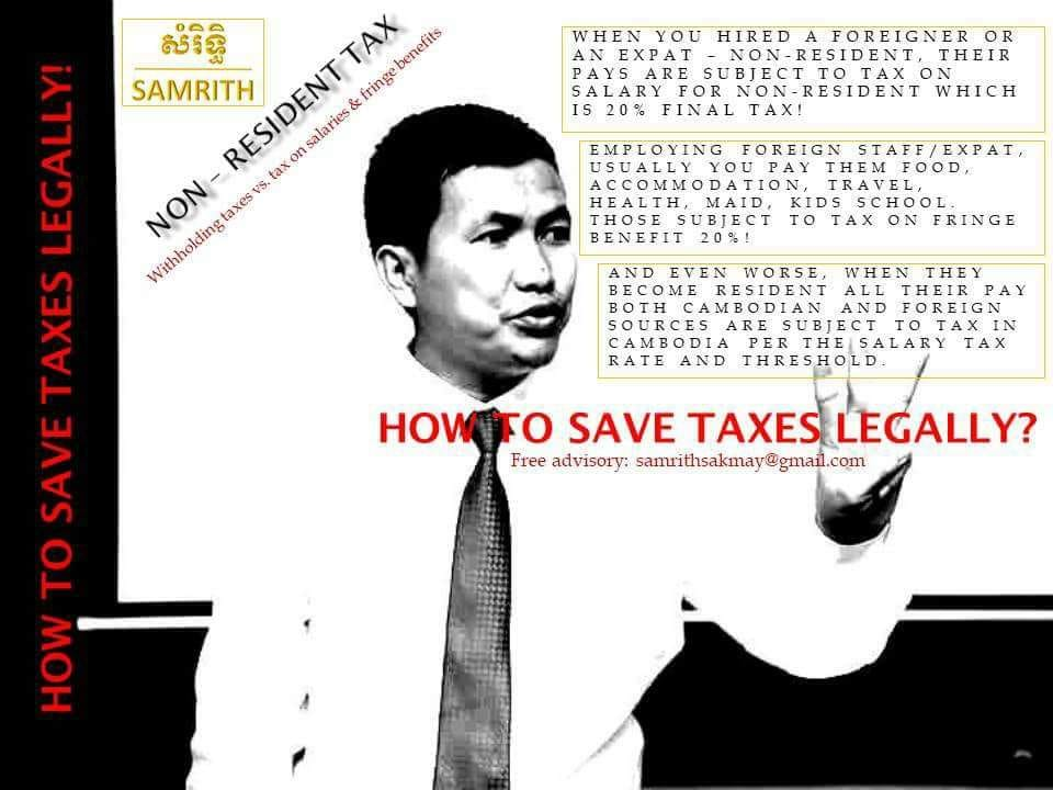 How to save tax regally