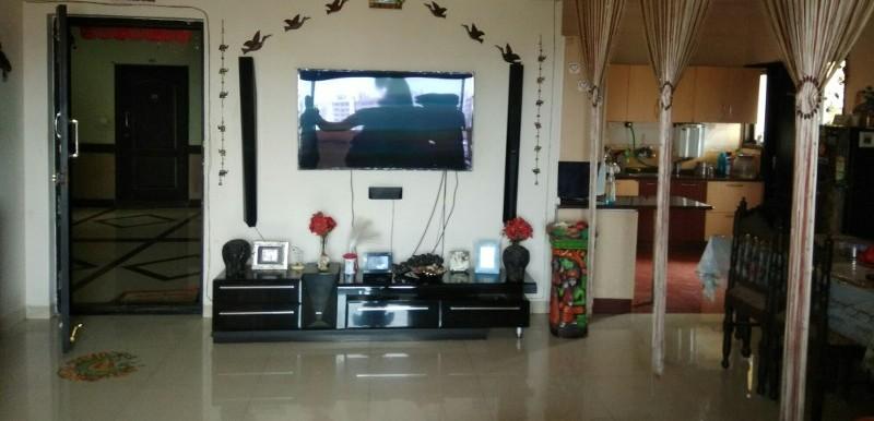 3 BHK Flat for Rent in Aisshwarya Excellency, Dooravani Nagar - Photo 0