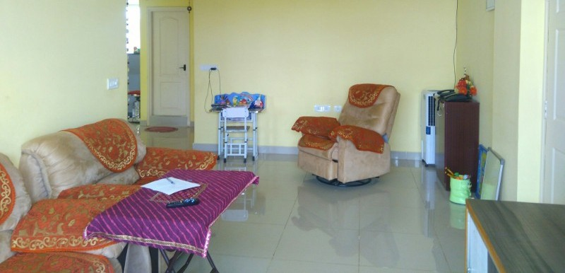 2 BHK Flat for Rent in SLS Springs, HSR Layout - Photo 0