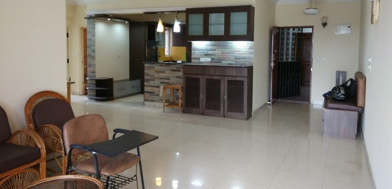 3 BHK Flat for Rent in SJR Park Vista, HSR Layout - Photo 0