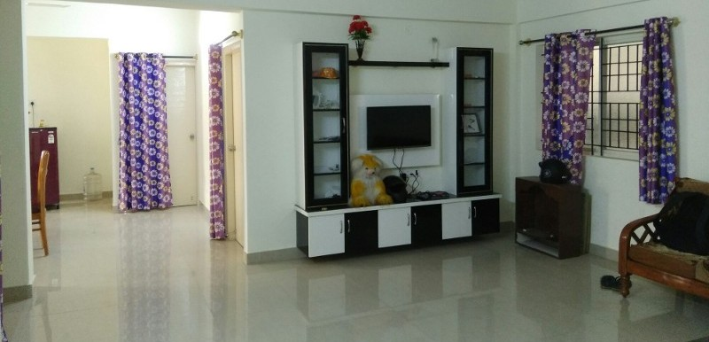 3 BHK Flat for Rent in SV Nature lake Apartments, Sarjapur Main Road - Photo 0