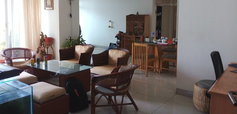 3 BHK Flat for Rent in Golden Blossom,  Kadugodi - Photo 0