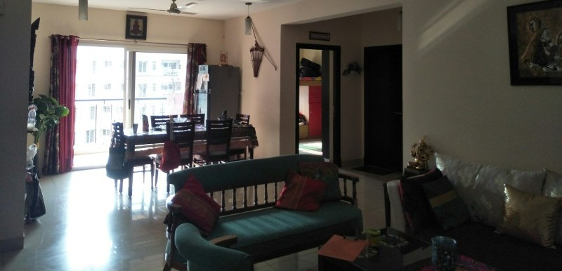 3 BHK Flat for Rent in Sobha Carnation, Bellandur - Photo 0