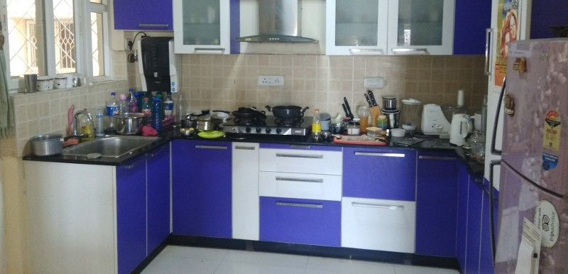 3 BHK Flat for Rent in Plama Heights, Kalyan Nagar - Photo 0