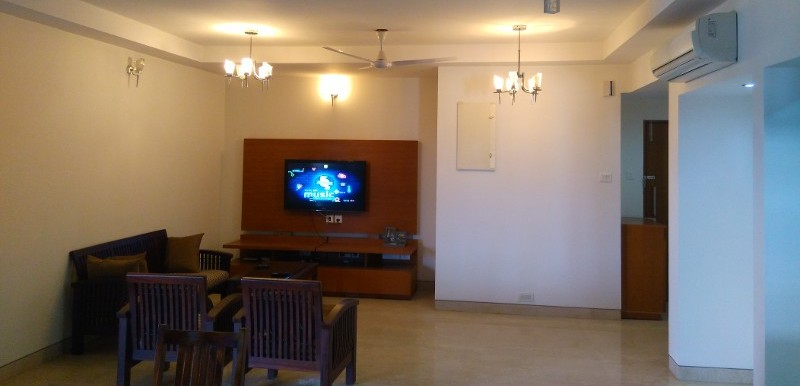 3 BHK Flat for Rent in Windmills Of Your Mind, Whitefield - Photo 0