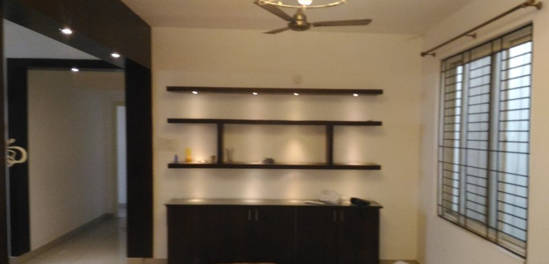 3 BHK Flat for Rent in SV Lake View Homes, Pragathi Nagar - Photo 0
