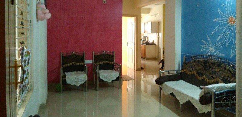 2 BHK Flat for Rent in Smiley Homes, Electronic City - Photo 0