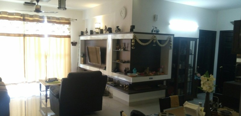 3 BHK Flat for Rent in Adarsh Palm Retreat, Bellandur - Photo 0