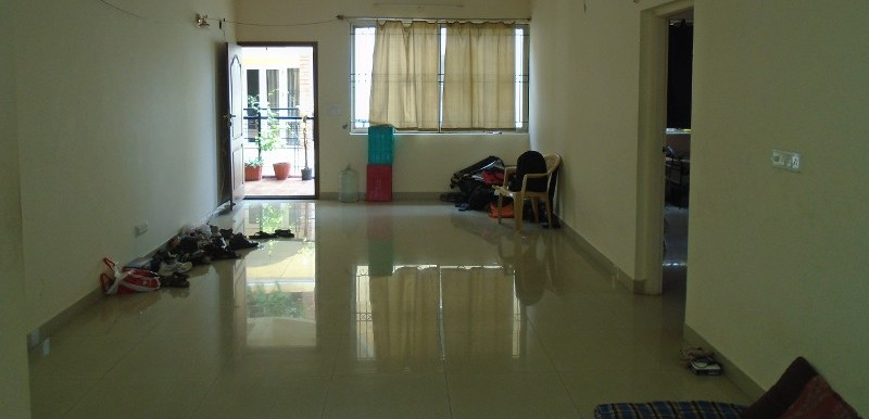 3 BHK Flat for Rent in Pearl Residency Apartment And Row Houses, Marthahalli - Photo 0