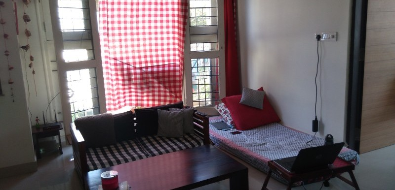 1 BHK Flat for Rent in Sapphire Nest, HSR Layout - Photo 0