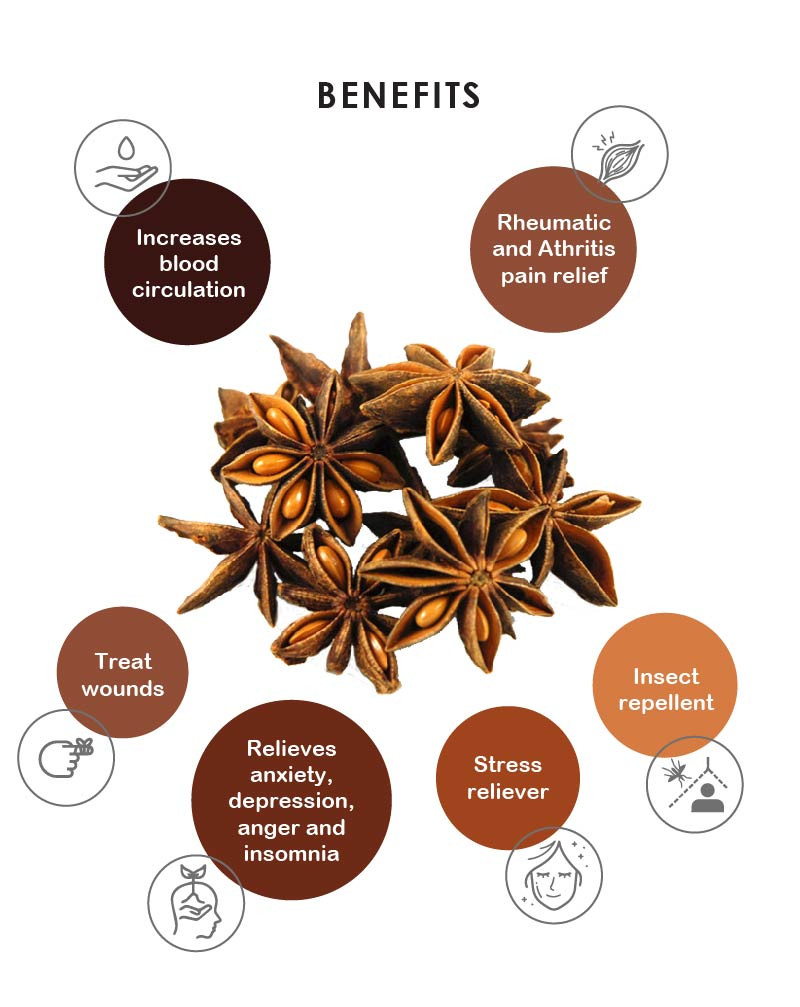 Yein&Young Star Anise - Essential Oil - 10ml