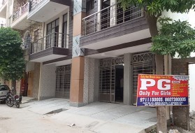 PG&Hostel - KVS Homes for Girls near DTU in Rohini Sector 17, Rohini, New Delhi, Delhi, India