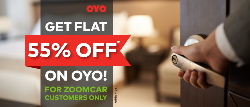 Rs 1000 off on Zoomcar. Upto 20%.