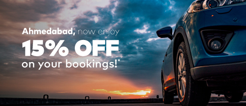 Get 15% off on your Zoomcar ride<br><br>Use Code: AHD15