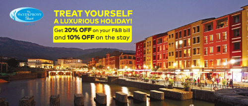 <b>20% Off on all Food and Non – Alcoholic Beverages*<br></b><b>10% Off on Best Available Rate on stay*</b><b><br></b>