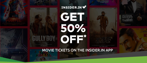 You heard it right!! Now get 50% off on your favourite movies on the Insider.in app.<br><br>Use Code: ZCINSIDER100