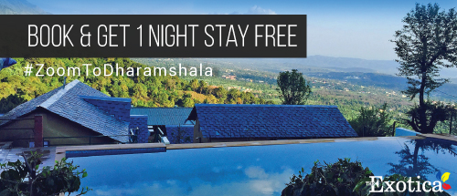 Alliance with Exotica resort , dharmshala , book a zoomcar and get 1 night stay free for zoomcar customer.