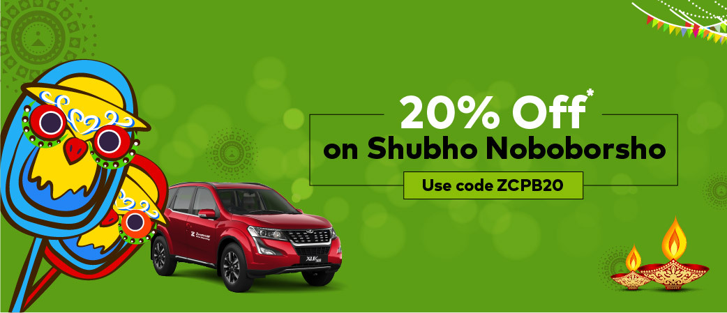 20% Off on Your Next Zoomcar Drive<br><br>Use Code - ZCPB20
