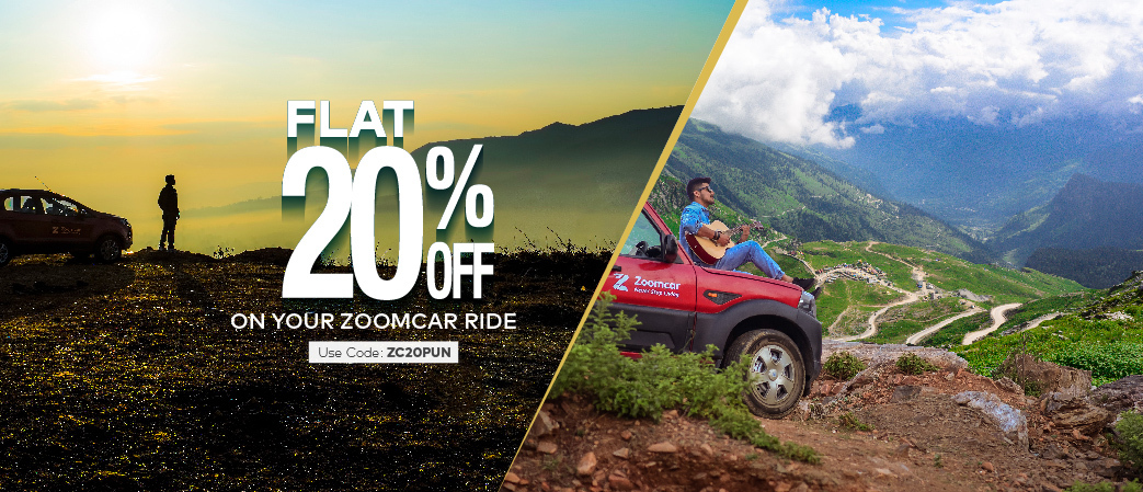 20% Off on your next Booking Upto INR 1000