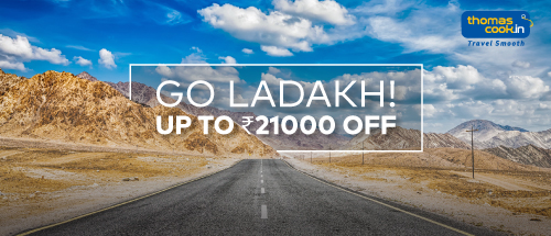 Get upto 21,000 off on Ladakh AllInclusive Packages for Mumbai departures.<br><br>Use Code: ZOOMLEH and get Rs 10,500/- off per person ( Min 2 passengers) for your next Ladakh trip .