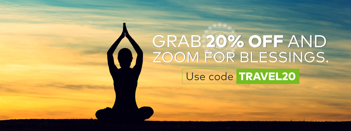 Get 20% off for your next religious trip visit.