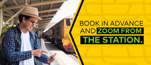Book in advance & Zoom from the Nagpur RailwayStation.