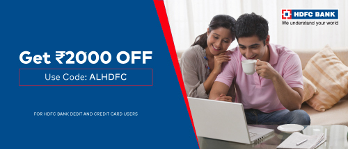 HDFC Bank offer.