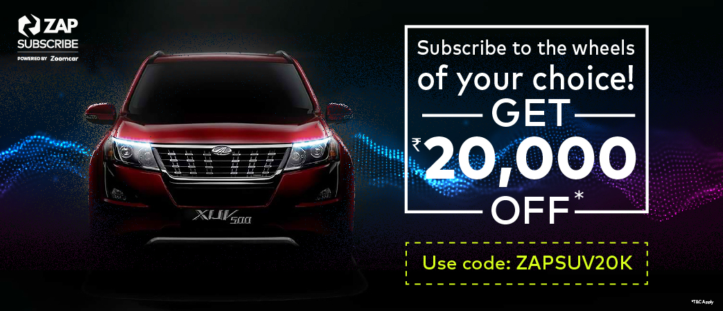 SUV campaign on Zap Subscribe
