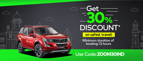 30% Off on Zoomcar Use Code: ZOOM30IND