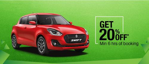 Get 20% off on hatchback cars!