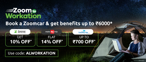 Get 10% (5% off + 5% cashback) off on your self-drive cars
