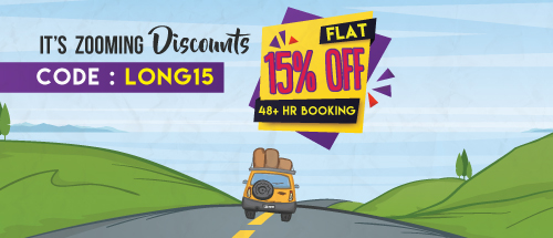 15% Off on 48+ hr bookings