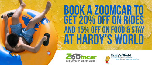 Alliance with Hardy's World - Ludhiana20% off on All Adventurous Rides and 15% off on Restaurant and Hotel Stay!!