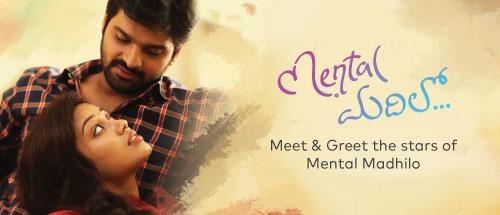 "Meet and Greet the Stars of ""<i><b>Mental Madhilo""</b></i>."