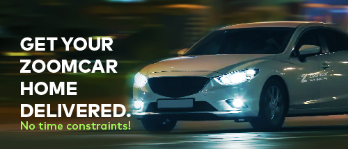 Next time you book a Zoomcar and have trouble picking up the car. Be assured, you can easily opt for HD and get your car delivered at your doorstep.