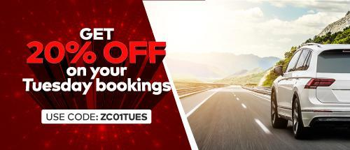 Terms and Conditions:<br>1. Applicable on Tuesday bookings with maximum discount of Rs.1000<br><br>