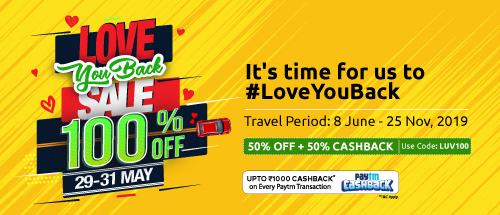 <b>FLAT 50% instant discount</b>+<b>FLAT 50% cashback.</b>