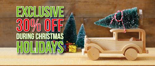 Drive during 24th Oct - 04th Nov and get 30% off during Christmas Holidays!