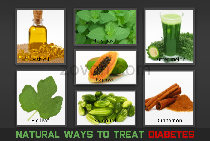 Natural ways to cure diabetes